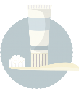 rengör vita sneakers med tandkräm